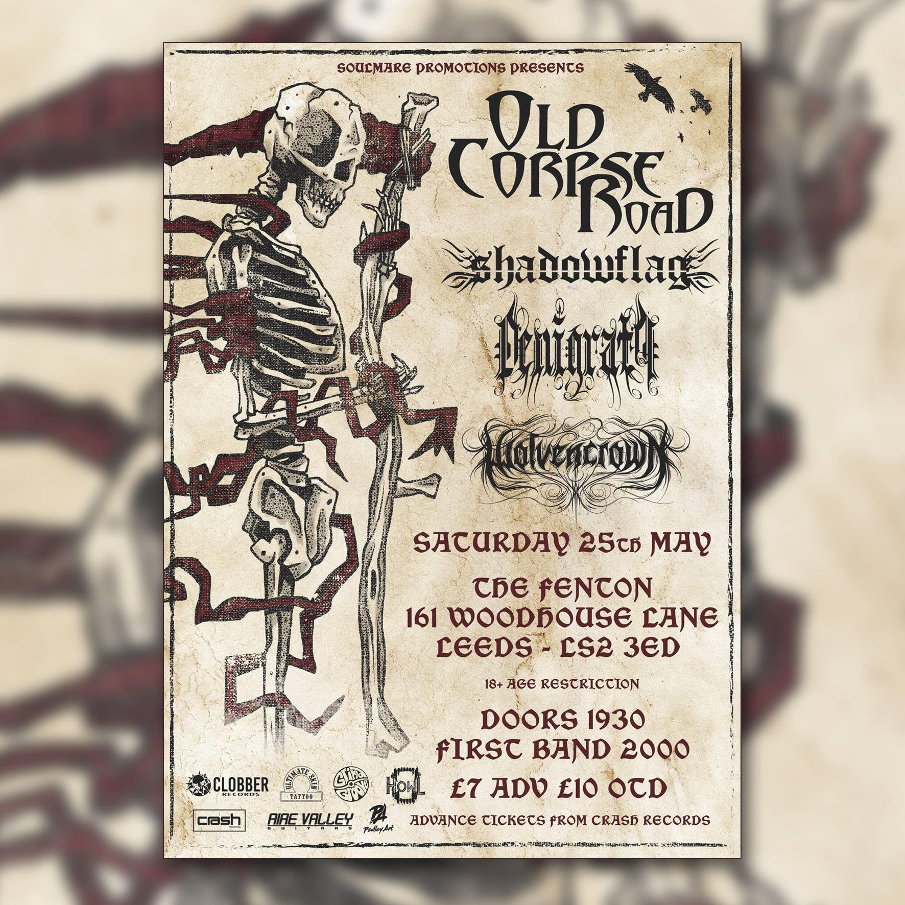 UK Black Metal special Live at The Fenton Leeds 00, May 25