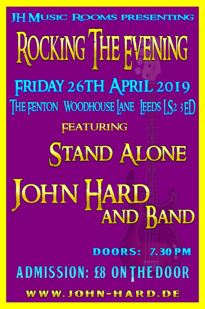 John Hard and Band Live at The Fenton Leeds 00, Apr 26