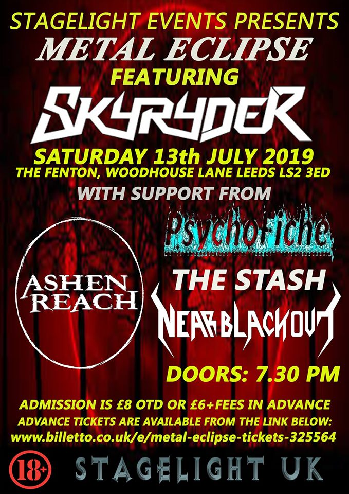 Metal Eclipse Live at The Fenton Leeds 00, Jul 13